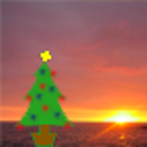 Christmas Sunrise Sunset Live Wallpaper for Android