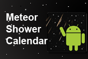 Meteor Shower Calendar Android App